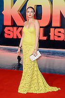 www.acepixs.com<br /> <br /> February 28 2017, London<br /> <br /> Xenia Tchoumitcheva arriving at the European premiere Of 'Kong: Skull Island' on February 28, 2017 in London<br /> <br /> By Line: Famous/ACE Pictures<br /> <br /> <br /> ACE Pictures Inc<br /> Tel: 6467670430<br /> Email: info@acepixs.com<br /> www.acepixs.com
