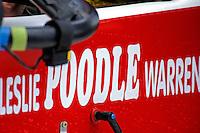 """Detail, cockpit: Leslie """"Poodle"""" Warren, A-36 (2.5 MOD class hydroplane(s)"""