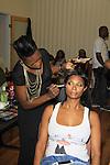 Jennifer Williams - Basketball Wives at Samantha Black Fashion Show - NYC Fashion Week - September 7, 2013 - New York City, NY (Photo by Sue Coflin/Max Photos)