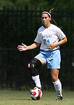 North Carolina's Jessica Maxwell on Sunday September 17th, 2006 at Koskinen Stadium on the campus of the Duke University in Durham, North Carolina. The University of North Carolina Tarheels defeated the University of Florida Gators 1-0 in an NCAA Division I Women's Soccer game.