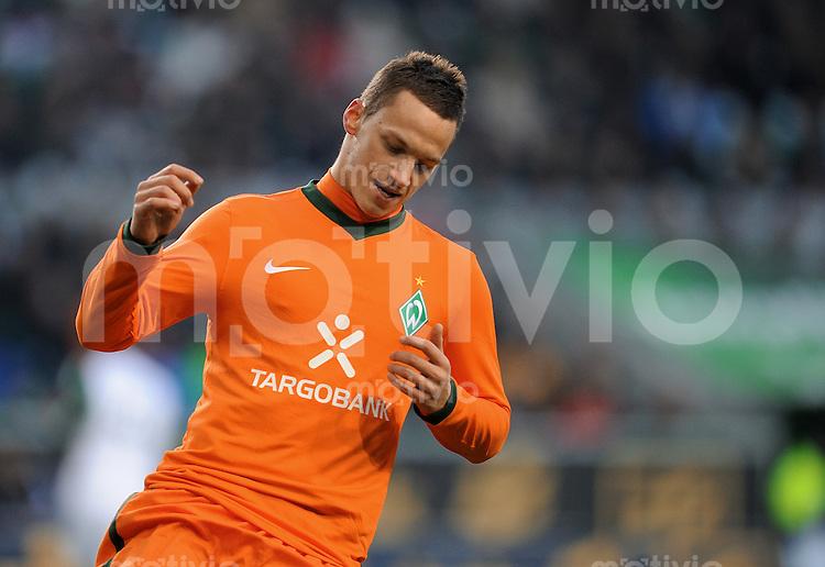 FUSSBALL   1. BUNDESLIGA   SAISON 2010/2010   15. SPIELTAG VfL Wolfsburg - SV Werder Bremen                          04.12.2010 Marko ARNAUTOVIC (SV Werder Bremen)