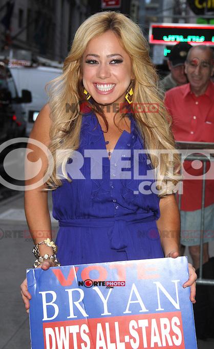 NEW YORK, NY - AUGUST 21, 2012: Sabrina Bryan at Good Morning America to discuss Dancing With The Stars season 15 in New York City. &copy; RW/MediaPunch Inc. /NortePhoto.com<br /> <br /> **SOLO*VENTA*EN*MEXICO**<br /> **CREDITO*OBLIGATORIO**<br /> *No*Venta*A*Terceros*<br /> *No*Sale*So*third*<br /> *** No Se Permite Hacer Archivo**<br /> *No*Sale*So*third*