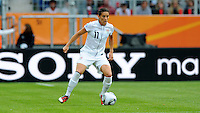 Alex Krieger of team USA during the FIFA Women's World Cup at the FIFA Stadium in Sinsheim, Germany on July 2nd, 2011.