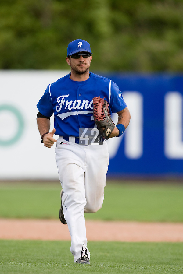BASEBALL - GREEN ROLLER PARK - PRAGUE (CZECH REPUBLIC) - 27/06/2008 - PHOTO: CHRISTOPHE ELISE.FREDERIC ROUGE (TEAM FRANCE)