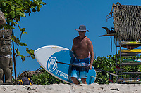 Namotu Island Resort, Nadi, Fiji (Sunday, May 6th 2018): There was an early boat to Cloudbreak this morning to take advantage of the rising tide. The surf was in the 4' range on a short period SW swell. Other guests surfed Namotu lefts, Wilkes and Swimming Pools during the morning. Onshore winds came up early afternoon and blew out all the breaks Photo: joliphotos.com