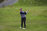 Anna Redding (USA) on the 1st during Round 2 of the Women's Amateur Championship at Royal County Down Golf Club in Newcastle Co. Down on Wednesday 12th June 2019.<br /> Picture:  Thos Caffrey / www.golffile.ie