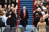 President-elect Donald J. Trump arrives for his inauguration on January 20, 2017 in Washington, D.C.  Trump becomes the 45th President of the United States.     <br /> Credit: Pat Benic / Pool via CNP