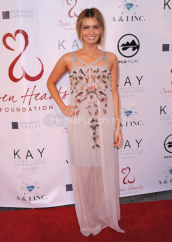 MALIBU, CA - MAY 10:  Lauren Parsekian at the 4th Annual Open Hearts Gala at a private residence on May 10, 2014 in Malibu, California. Credit: PGSK/MediaPunch