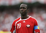 15 June 2006: Trinidad captain Dwight Yorke (TRI). England defeated Trinidad and Tobago 2-0 at the Frankenstadion in Nuremberg, Germany in match 19, a Group B first round game, of the 2006 FIFA World Cup.