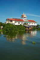Crossing the Tonle Sap Lake Cambodia