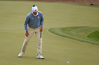 Matt Kuchar (USA) sinks his putt on 6 during day 5 of the WGC Dell Match Play, at the Austin Country Club, Austin, Texas, USA. 3/31/2019.<br /> Picture: Golffile | Ken Murray<br /> <br /> <br /> All photo usage must carry mandatory copyright credit (&copy; Golffile | Ken Murray)