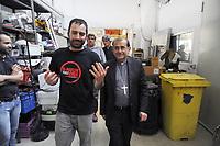 - L'arcivescovo di Milano monsignor Mario Delpini in visita alla fabbrica occupata ed autogestita Rimaflow di Trezzano sul Naviglio.<br /> <br /> - The Archbishop of Milan monsignor Mario Delpini visiting the occupied and self-managed Rimaflow factory in Trezzano sul Naviglio.