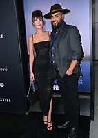 """LOS ANGELES, USA. June 06, 2019: Jonah Johnson & Shelby Bullard at the premiere for """"Ice on Fire"""" at the LA County Museum of Art.<br /> Picture: Paul Smith/Featureflash"""