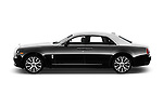 Car driver side profile view of a 2019 Rollsroyce ghostsd1ra Base 4 Door Sedan