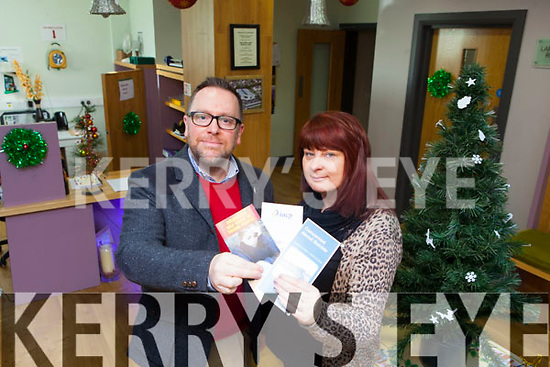 Listowel Family Resource Centre is offering low cost counselling in the run up to Christmas for people who are feeling overwhelmed. Pictured were: Robert Patterson (Centre Counsellor) and Claire Stack (Deputy Manager LFRC).