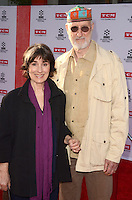LOS ANGELES - APR 28:  Anna Stuart, James Cromwell at the TCM Classic Film Festival Opening Night Red Carpet at the TCL Chinese Theater IMAX on April 28, 2016 in Los Angeles, CA
