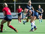 AMSTELVEEN  - Pamela Raaff (Pin), hoofdklasse hockeywedstrijd dames Pinole-Laren (1-3). COPYRIGHT  KOEN SUYK