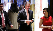 United States Senator David Perdue (Republican of Georgia), center, arrives for a meeting with President-elect Donald Trump in the lobby of Trump Tower in New York, New York, USA, 02 December 2016.<br /> Credit: Justin Lane / Pool via CNP