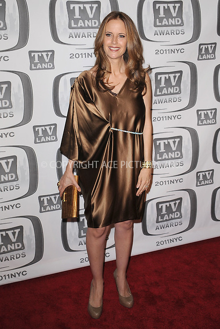 WWW.ACEPIXS.COM . . . . . .April 10, 2011...New York City....Kelly Preston attends the 9th Annual TV Land Awards at the Javits Center on April 10, 2011 in New York City.....Please byline: KRISTIN CALLAHAN - ACEPIXS.COM.. . . . . . ..Ace Pictures, Inc: ..tel: (212) 243 8787 or (646) 769 0430..e-mail: info@acepixs.com..web: http://www.acepixs.com .