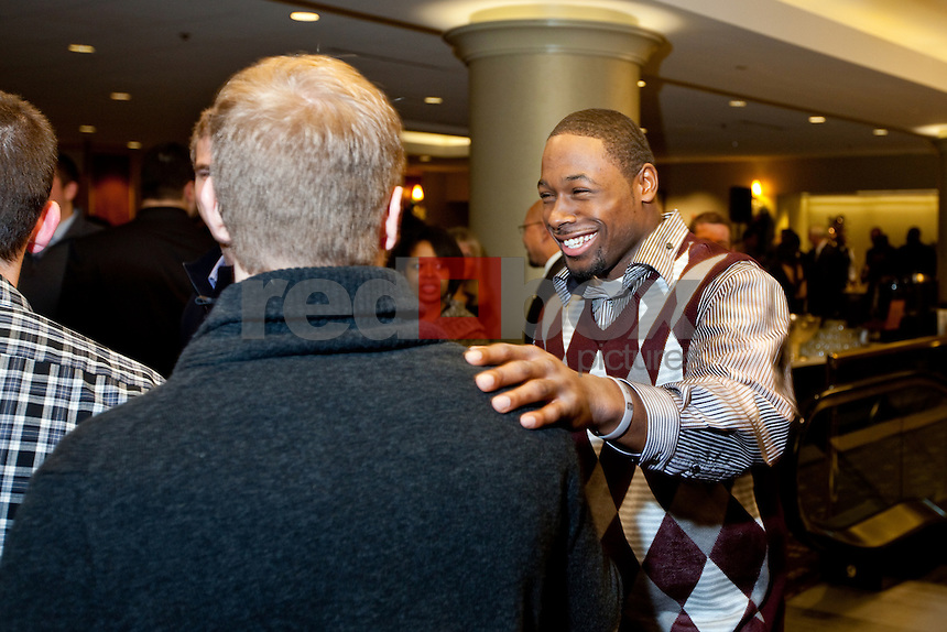 Kasen Williams. The University of Washington football team held their year end banquet at the Westin Hotel in Seattle on Sunday December 4, 2011. (Photography By Scott Eklund/Red Box Pictures)