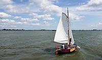 Nederland Durgerdam 2019. Zeilen op het IJmeer. Foto Berlinda van Dam / Hollandse Hoogte