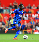 Daniel Amartey of Leicester City during the Premier League match at Old Trafford Stadium, Manchester. Picture date: September 24th, 2016. Pic Sportimage