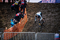 Toon Aerts (BEL) <br /> <br /> Men's Elite race<br /> UCI 2020 Cyclocross World Championships<br /> Dübendorf / Switzerland<br /> <br /> ©kramon