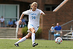 30 August 2009: North Carolina's Ali Hawkins. The University of North Carolina Tar Heels defeated the University of North Carolina Greensboro Spartans 1-0 at Fetzer Field in Chapel Hill, North Carolina in an NCAA Division I Women's college soccer game.