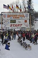 Rick Swenson Willow restart Iditarod 2008.