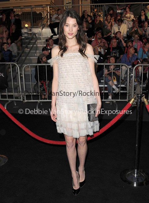 Astrid Berges-Frisbey at Walt Disney Pictures Premiere of Pirates of the Caribbean : On Stranger Tides held at Disneyland in Anaheim, California on May 07,2011                                                                               © 2010 Hollywood Press Agency