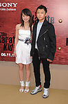 "WESTWOOD, CA. - June 07: Wenwen Han and Zhenwei Wang arrive at ""The Karate Kid"" Los Angeles Premiere at Mann Village Theatre on June 7, 2010 in Westwood, California."