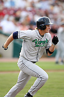 August 15 2008:  Clay Fuller (10) of the Cedar Rapids Kernels, Class-A affiliate of the Los Angeles Angels of Anaheim, during a game at Philip B. Elfstrom Stadium in Geneva, IL.  Photo by:  Mike Janes/Four Seam Images