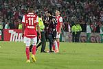 BOGOTÁ – COLOMBIA _ 03-04-2014 / En compromiso correspondiente a la quinta fecha de la fase de grupos de la Copa Libertadores, Independiente Santa Fe igualó 1 – 1 ante Atlético Mineiro en el estadio Nemesio Camacho El Campín de Bogotá. /