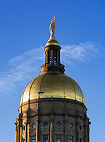 Georgia State Capitol building, Atlanta, Georgia, USA.