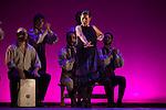 Flamenco dancer Sara Baras dances during her performance `La Pepa´ in Madrid, Spain. October 14, 2014. (ALTERPHOTOS/Victor Blanco)