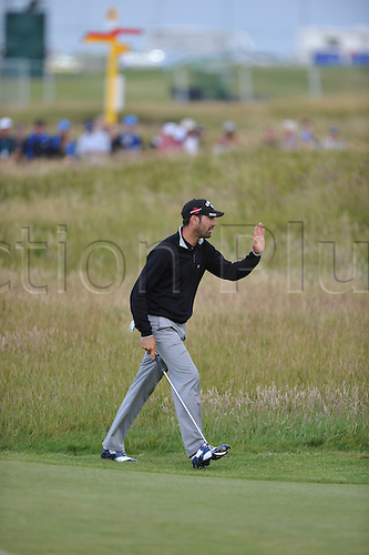 15/07/10 Alvaro Quiros in action  on the Old Course , St  Andrews, Fife, Scotland in the first round of  British Open Championship