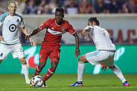 Bridgeview, IL - Saturday August 26, 2017: Minnesota United FC defeated the Chicago Fire 2-1 in a Major League Soccer match at Toyota Park.
