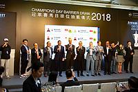 04-26-18 Champions Day Barrier Draw Sha Tin Hong Kong