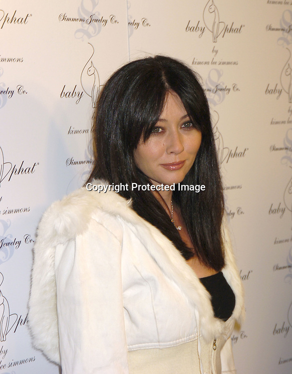 Shannen Doherty..at The Baby Phat Fall 2005 Fashion Show on February 5, 2005 at Skylight. Photo By Robin Platzer, Twin Images