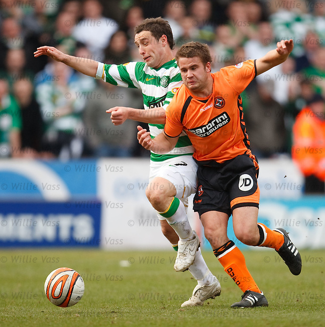 Scott McDonald eased off the ball by James Weslowski