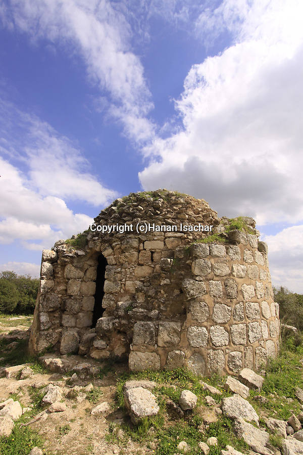 Israel, Shephelah, the round structure in Beth Gemel