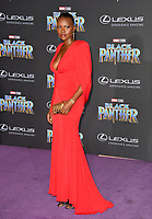 "Shaunette Renee Wilson at the world premiere for ""Black Panther"" at the Dolby Theatre, Hollywood, USA 29 Jan. 2018<br /> Picture: Paul Smith/Featureflash/SilverHub 0208 004 5359 sales@silverhubmedia.com"