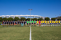 USWNT U-20 vs Brazil, September 18, 2016