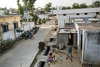 Ambedkar Nagar in Medak, Telangana, India.