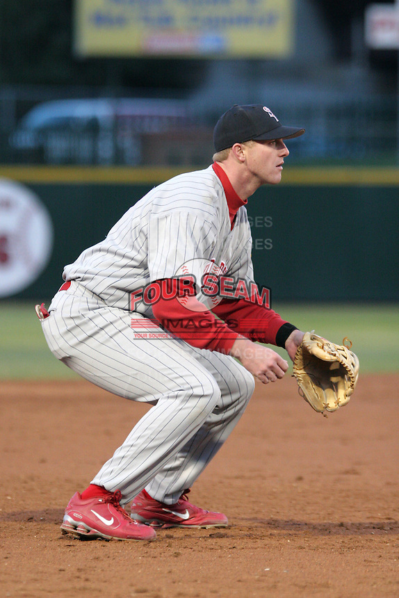 Scranton Wilkes-Barre Red Barons Brennan King during an International League game at Frontier Field on May 19, 2006 in Rochester, New York.  (Mike Janes/Four Seam Images)
