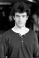 August 23, 1987 File Photo - Montreal (Qc) Canada - French <br /> actor Thierry Fremont<br /> <br /> Thierry FrŽmont (born 12 July 1962) is a French actor. He has appeared in over 65 films and television shows since 1984. He starred in the 1991 film Fortune Express, which was entered into the 41st Berlin International Film Festival.