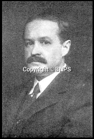 BNPS.co.uk (01202 558833)<br /> Pic: BNPS<br /> <br /> John Thayer, who died aboard Titanic.<br /> <br /> Golden gift of gratitude - A beautiful gold watch three wealthy widows gifted to the captain of the Carpathia who rescued them from the Titanic disaster is to be sold for £50,000.<br /> <br /> Madeline Astor, Marian Thayer and Eleanor Widener bought the 18ct gold pocket watch from Tiffany & Co after they returned safely to New York following the sinking that claimed there husbands lives.<br /> <br /> They presented it to Capt Arthur Rostron as an expression of thanks and gratitude for rescuing them and attempting to save their three husbands who all drowned.<br /> <br /> The watch is now coming up for sale at Henry Aldridge and Son of Devizes, Wilts.