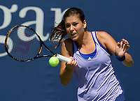 Sorana Cirstea ROU (24) against Stephanie Dubois (CAN) in the second round. Cirstea beat Dubois 6-4 5-7 6-4..International Tennis - US Open - Day 3 Wed 02 Sep 2009 - USTA Billie Jean King National Tennis Center - Flushing - New York - USA ..© Frey, Advantage Media Network, Level 1, Barry House, 20-22 Worple Road, London, SW19 4DH +44 208 947 0100..