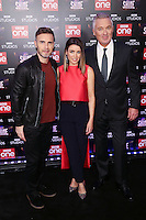 "Gary Barlow, Dannii Minogue and Martin Kemp<br /> at the ""Let it Shine"" launch, Ham Yard Hotel, London.<br /> <br /> <br /> ©Ash Knotek  D3214  13/12/2016"
