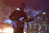 MIAMI, FL - JUNE 15: Tyler Joseph of Twenty One Pilots performs at the AmericanAirlines Arena on June 15, 2019 in Miami Florida. Credit Larry Marano © 2019